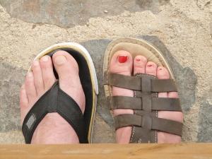 pies mal cuidados