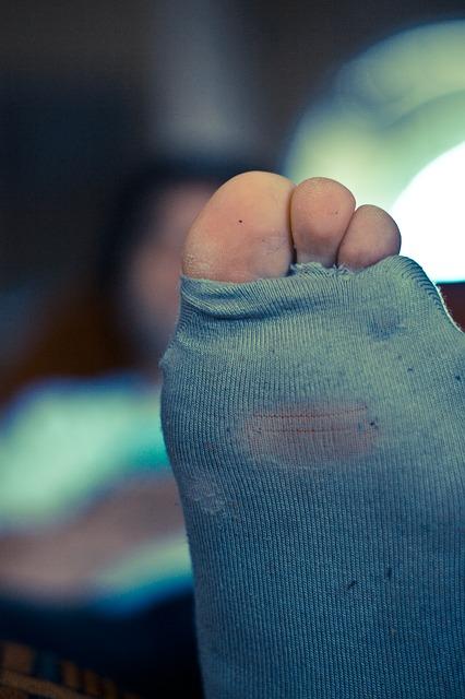 Es imposible una noche romántica con unos pies así...